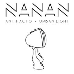 nanan urban light antifacto lamp robot logo