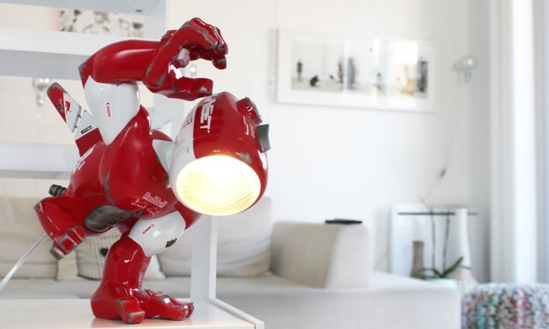 nanan urban light antifacto lamp robot mecha paw coarse